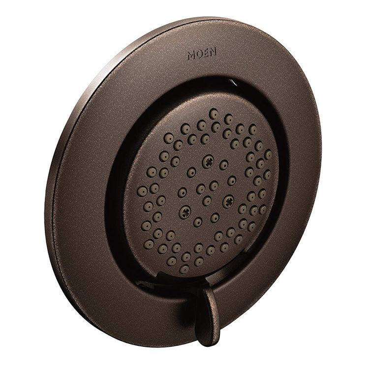 Moen TS1422ORB Moen TS1422ORB Mosaic Round Flush Body Spray, Oil Rubbed Bronze