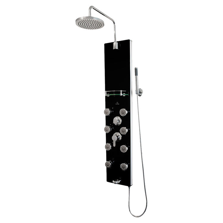 View 2 of Pulse 1015-2 Pulse 1015-2 Makena II ShowerSpa System, Black Finish