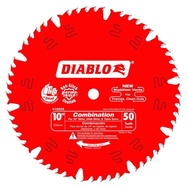 Diablo D1050X Diablo D1050X 10-Inch 50T Circular Saw Blade
