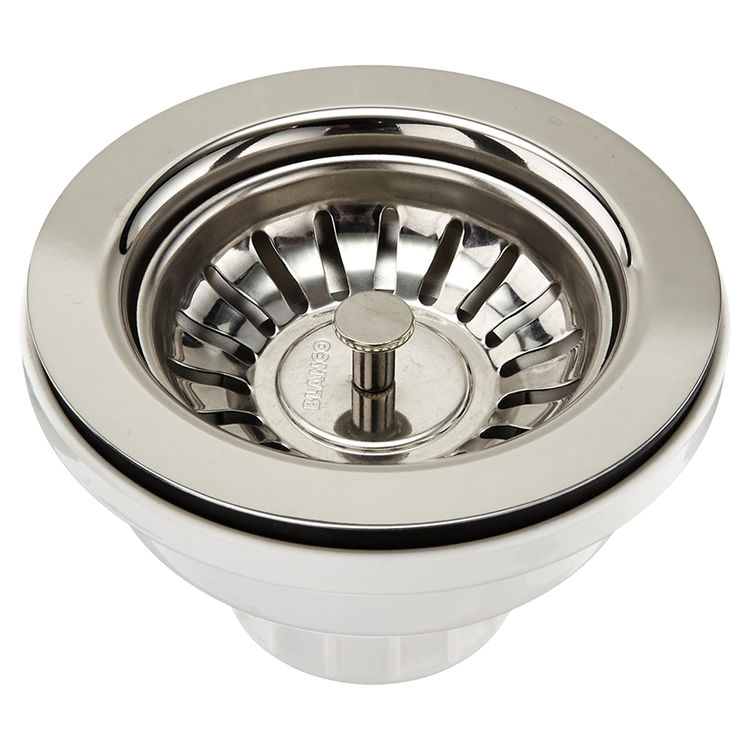 View 2 of Blanco 440007 Blanco 440007 Chrome Basket Waste Strainer