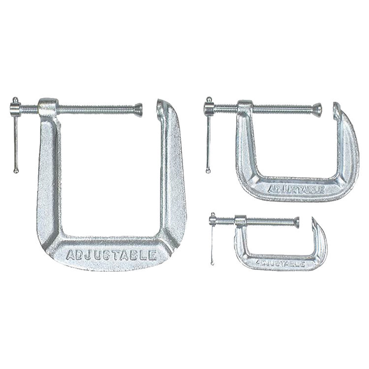 Pony Tools 1491 Pony Tools 1491 Adjustable C-Clamp Set, Steel