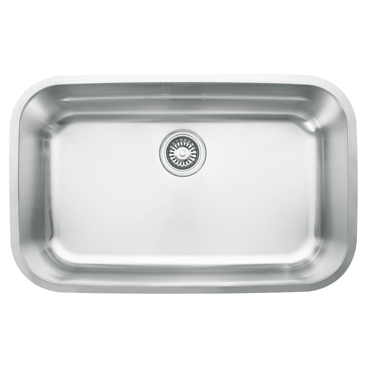 Franke OXX110 Franke OXX110 Single Bowl Undermount Stainless Undermount Sink - Stainless