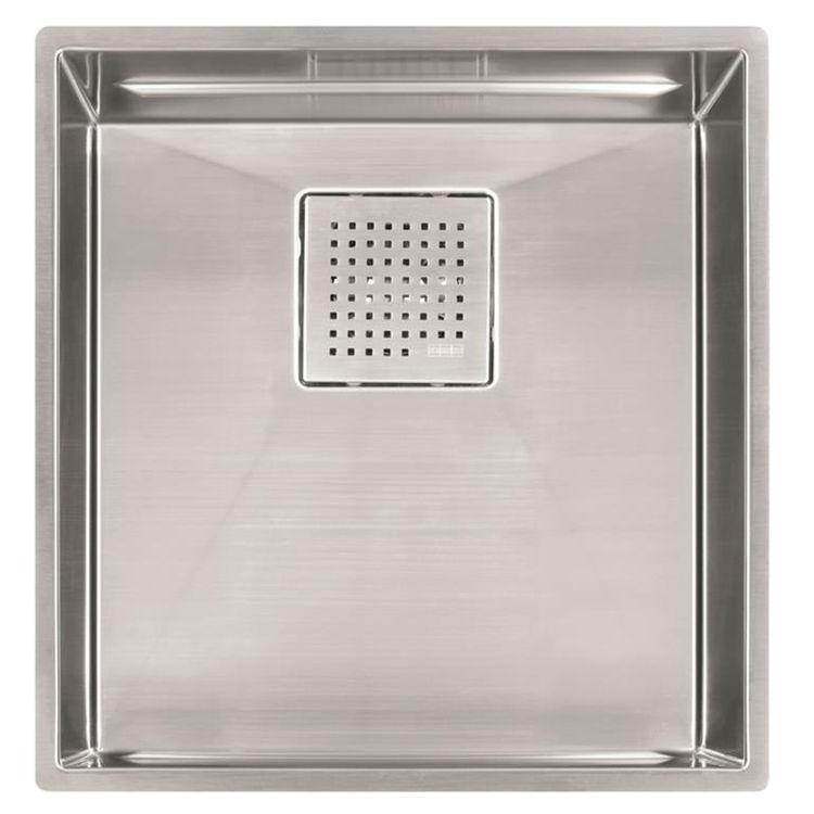 Franke PKX11016 Franke PKX11016 Single Bowl Undermount Stainless Undermount Sink - Stainless