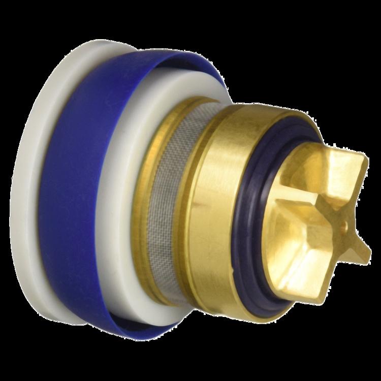 Moen Commercial 104424 Mixing Valve With Check Valves In: Moen Commercial 104437 Flush Valve Piston Control Disc