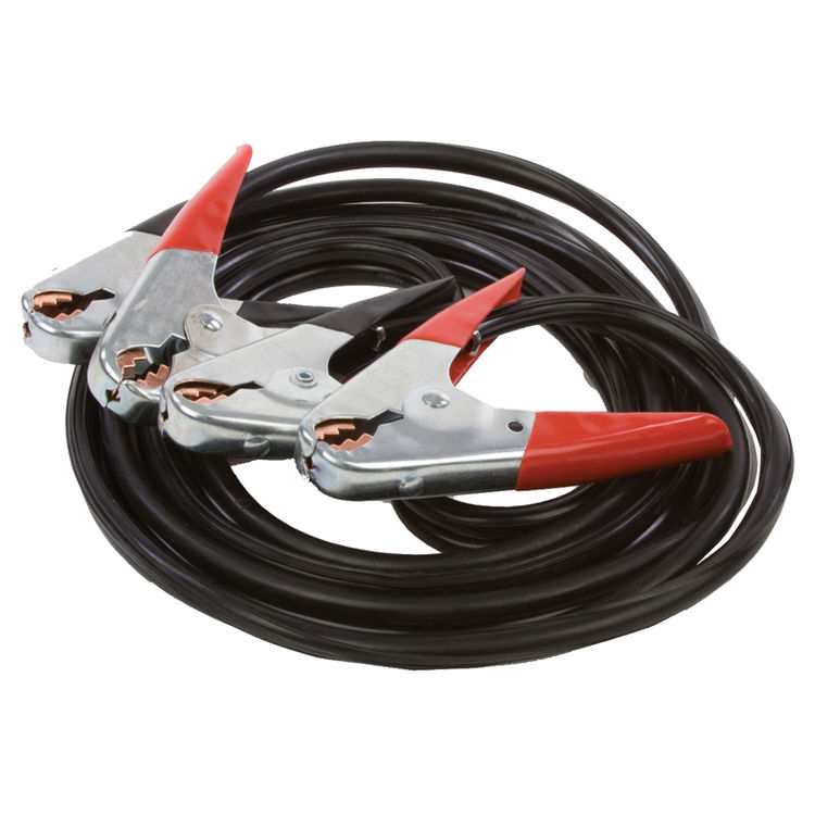 Forney 32277528659 Forney 52865 Battery Jumper Cables, Heavy Duty Number 4, 12-Feet