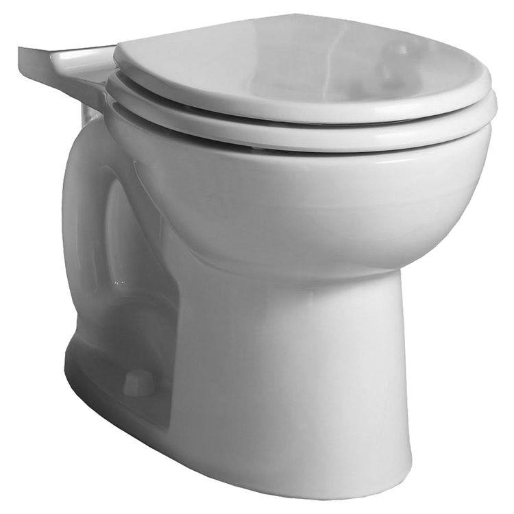 American Standard 3717D001.020 American Standard Brands 3717D001.020 Toilet Bowl, 1.28 gpf, Round, 12 in