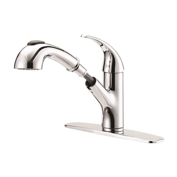 Boston Harbor FP4A4079CP Boston Harbor FP4A4079CP Kitchen Faucets, Single Handle Pullout, Chrome