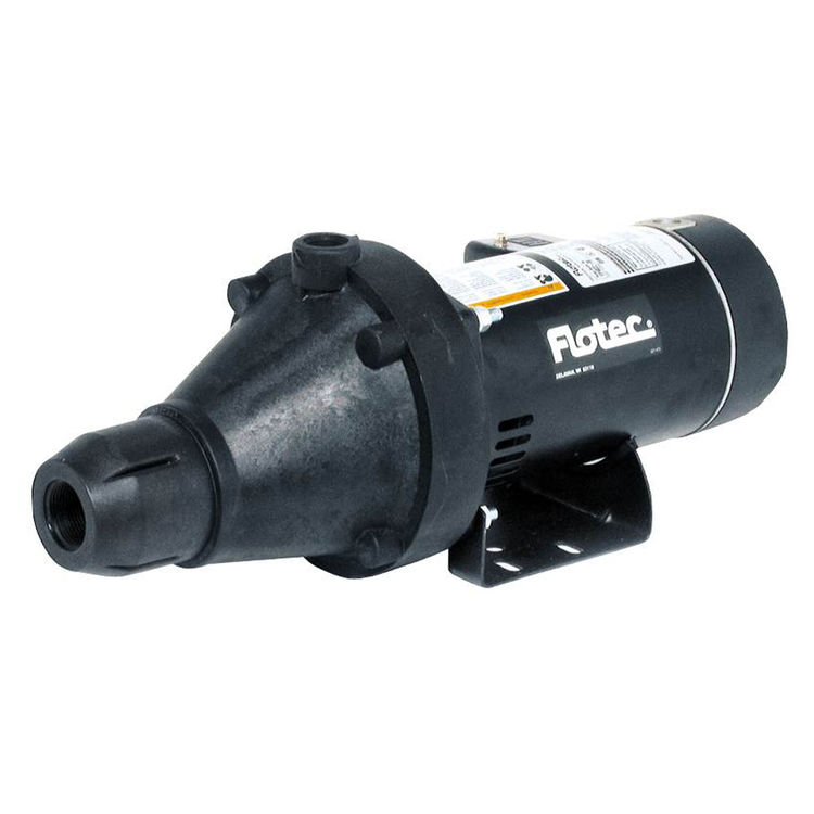 Flotec FP4022-10 Flotec FP4022-10 Shallow Well Jet Pump, 3/4 hp, 1-1/4 in NPT Inlet, 1 in NPT Outlet, 230/115 V, 60 Hz, 6.1/12.2 A