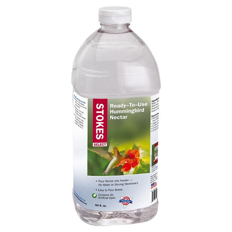 Hiatt 38534 Stokes Select 38534 Ready-To-Use Nectar Bird Food, 64 oz, Bottle, Liquid