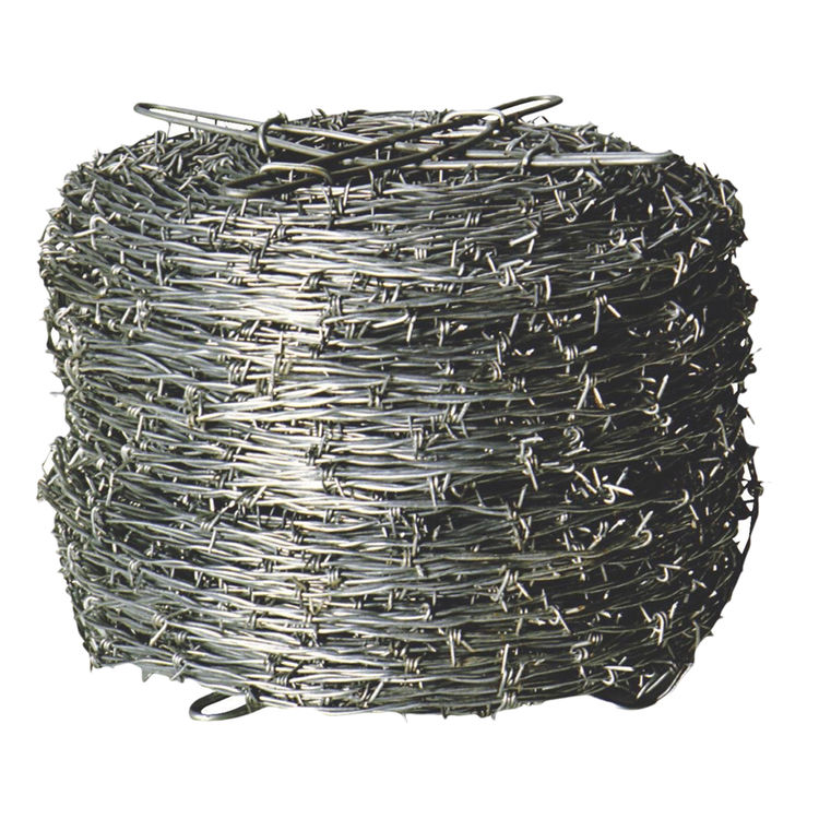 Keystone Wire 70481 Red Brand 70481 4-Point Barbed Wire, 1320 ft L, Steel, Galvanized