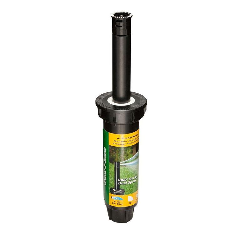 Rainbird 1804QDS Rainbird 1804QDS Dual Spray Head Sprinkler, 0.1 gpm, 1/2 in FNPT, 4 in Pop-Up