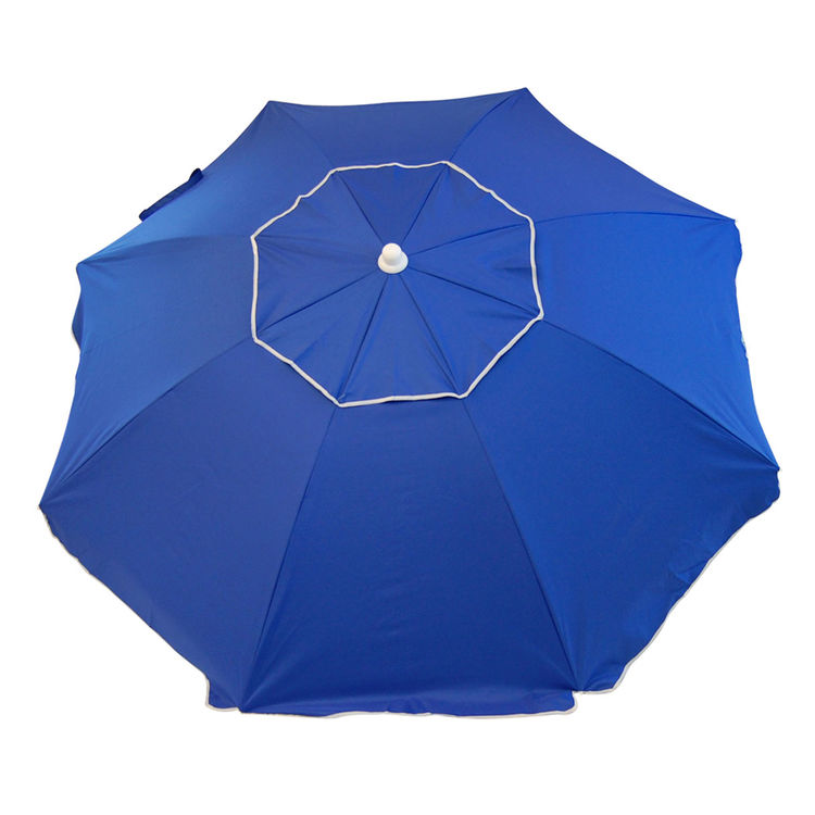 Rio UB76-46-OG RIO UB76-46-OG Outdoor Furniture Umbrella With Anchor 12 in L x 11 in W x 45 in H, Blue