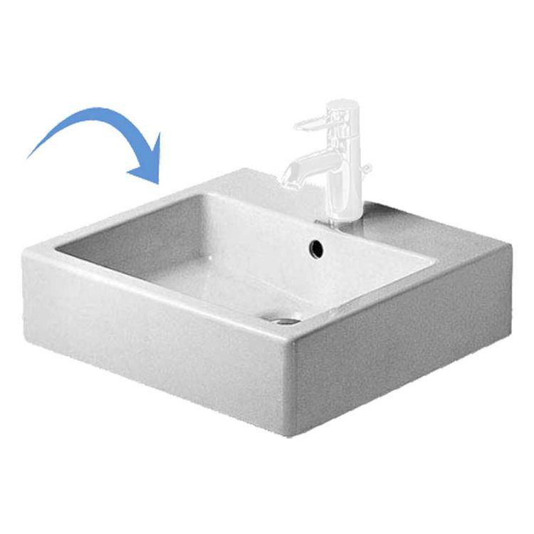 View 5 of Duravit 4545000881 Duravit 04545000881 Vero Vessel Ceramic Bathroom Sink