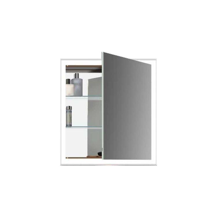 Duravit Lc7550r0000 L Cube 25 5 8 Quot Mirror Lighting Cabinet