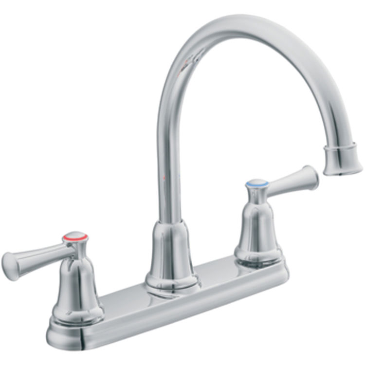 Moen CFG CA41611 Capstone Series Two Handle Kitchen Faucet