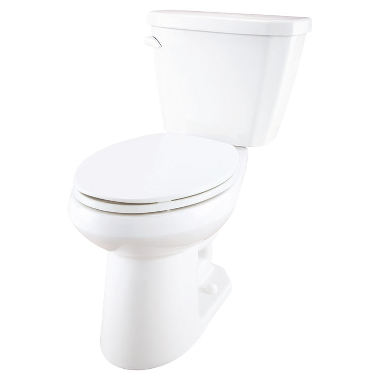 gerber vp 21 518 viper white two piece elongated ergoheight toilet. Black Bedroom Furniture Sets. Home Design Ideas