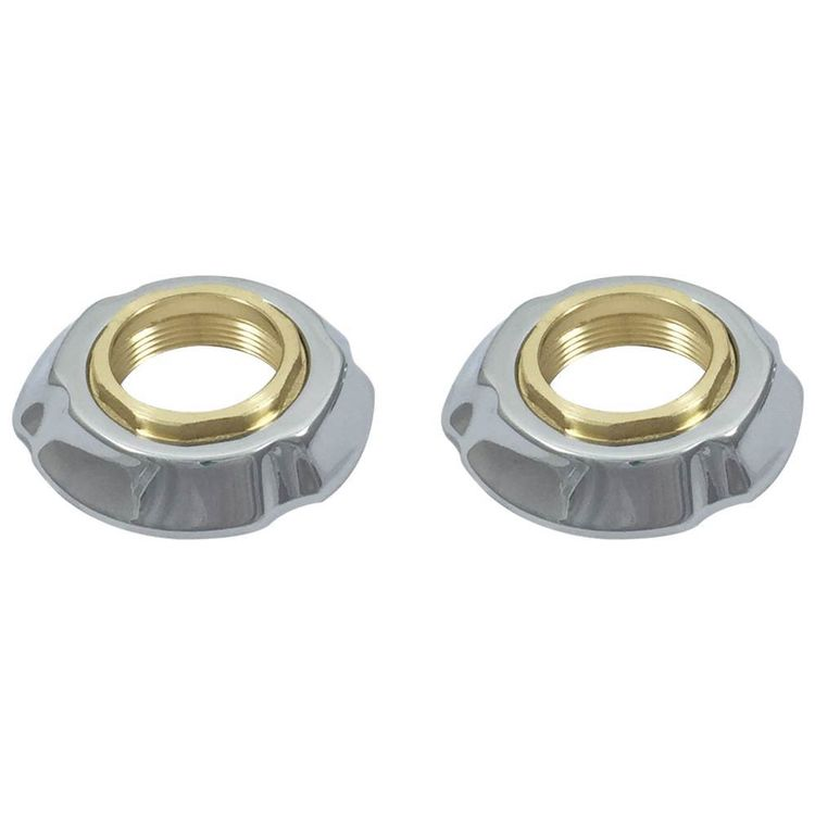View 3 of Delta RP61289 Delta RP61289 Addison Flange Assembly for Widespread - Chrome