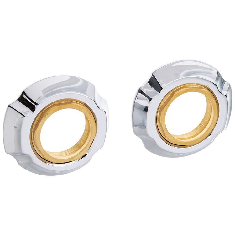 View 5 of Delta RP61289 Delta RP61289 Addison Flange Assembly for Widespread - Chrome