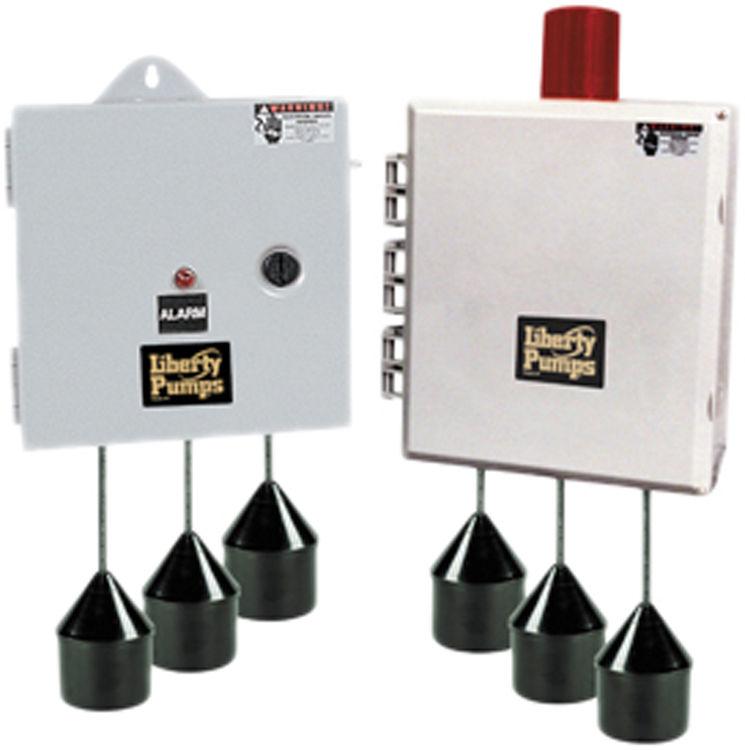 Liberty AE24H=4 Liberty Pumps AE24H=4 AE-Series Duplex Pump Control with Alarm