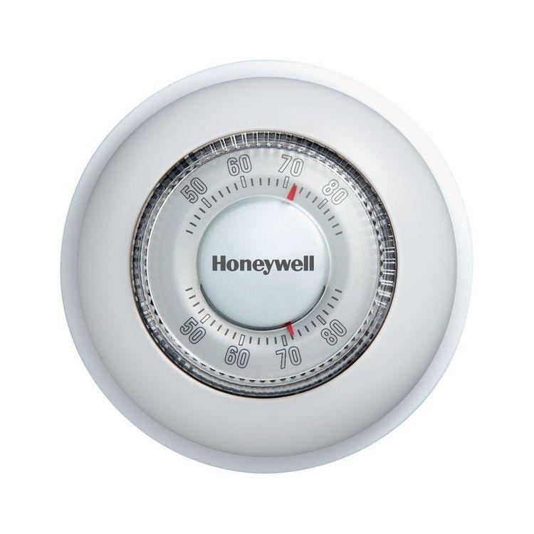 View 2 of Honeywell CT87K Honeywell CT87K Round Mechanical Thermostat (Heat Only)