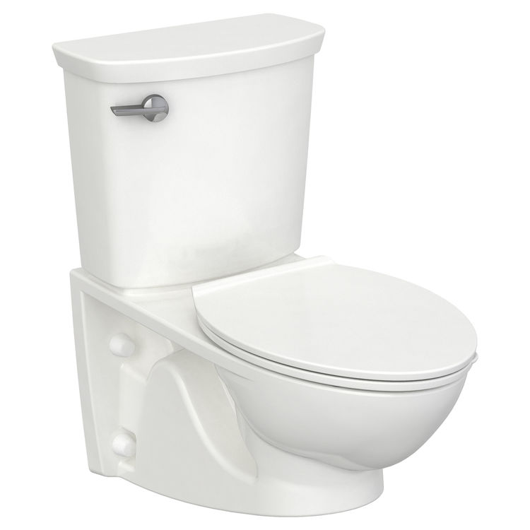 View 2 of American Standard 2882.107.020 American Standard 2882.107.020 Glenwall VorMax Wall Hung Elongated Complete Toilet - White