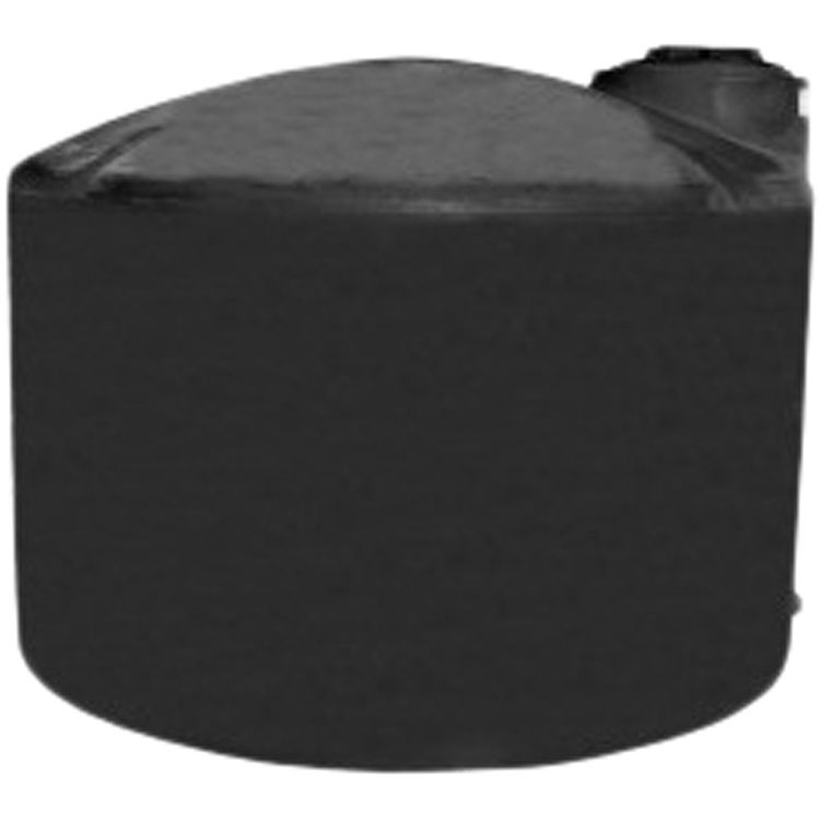 Norwesco Fluid 40631 Norwesco 40631 2500 Gallon Water Tank - Above Ground, Black
