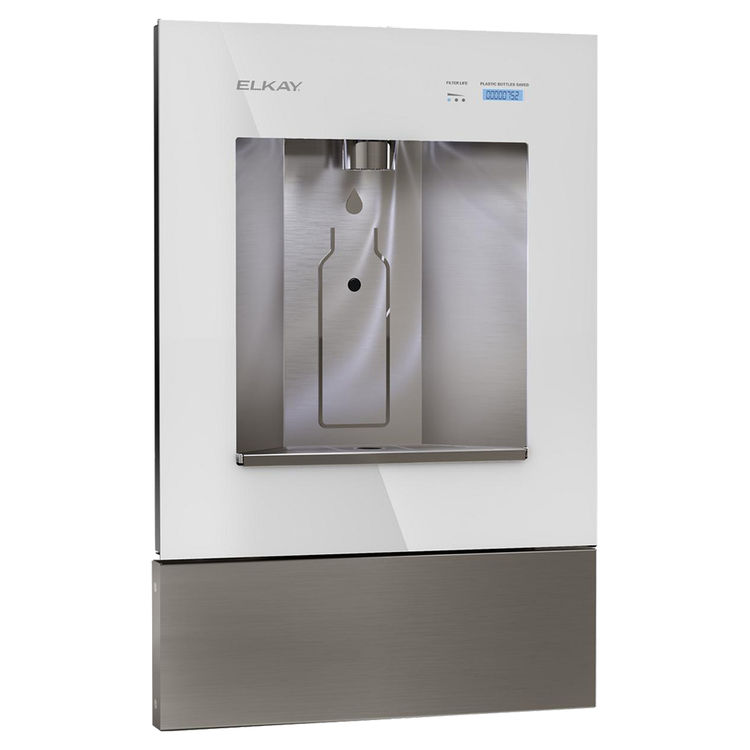 View 2 of Elkay LBWD00WHC Elkay ezH2O Liv Built-in Filtered Water Dispenser, Non-refrigerated, Aspen White - LBWD00WHC