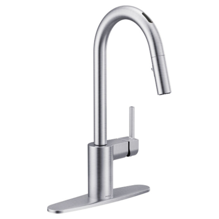 Moen 7565EVC Moen 7565EVC Align One-Handle Voice Activated Pulldown Kitchen Faucet - Chrome