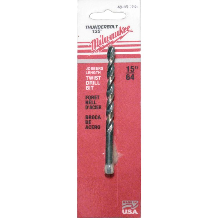 Milwaukee 48-89-1045 Milwaukee 48-89-1045 15/64 Inch Twist Drill Bit Thunderbolt