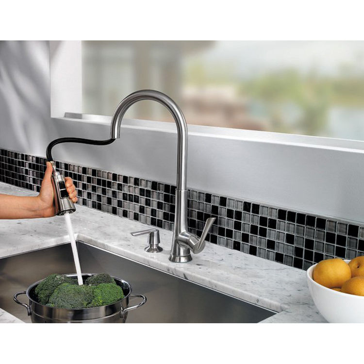 View 3 of Pfister GT529-MDS Pfister GT529-MDS Mystique Stainless Steel One Handle Pulldown Kitchen Faucet