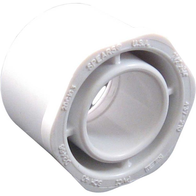 View 4 of Commodity  PVCB11234 Schedule 40 PVC Bushing, 1-1/2 x 3/4 Inch