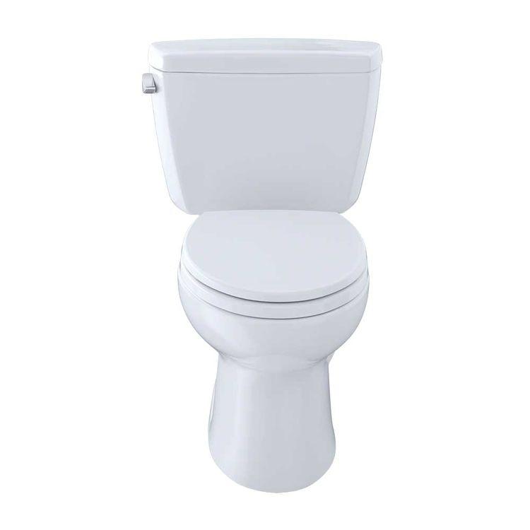 View 3 of Toto CST744S#01 TOTO Drake Two-Piece Toilet - 1.6 GPF , Elongated, Cotton White - TOTO CST744S#01