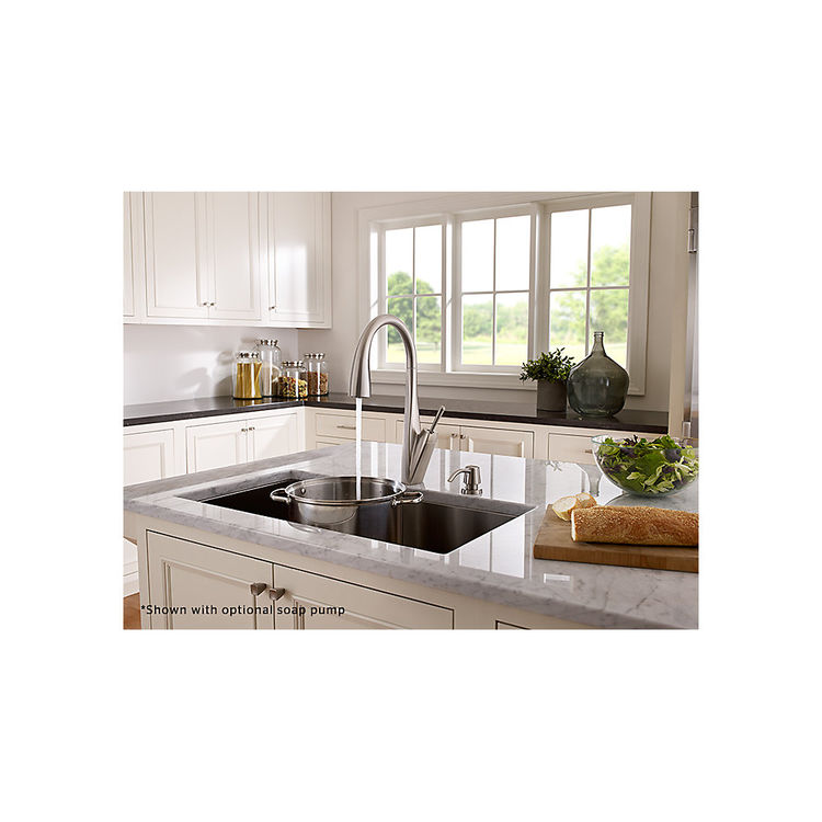 View 3 of Pfister GT529-MPS Pfister GT529-MPS Zuri One-Handle Pull-Down Kitchen Faucet - Stainless Steel