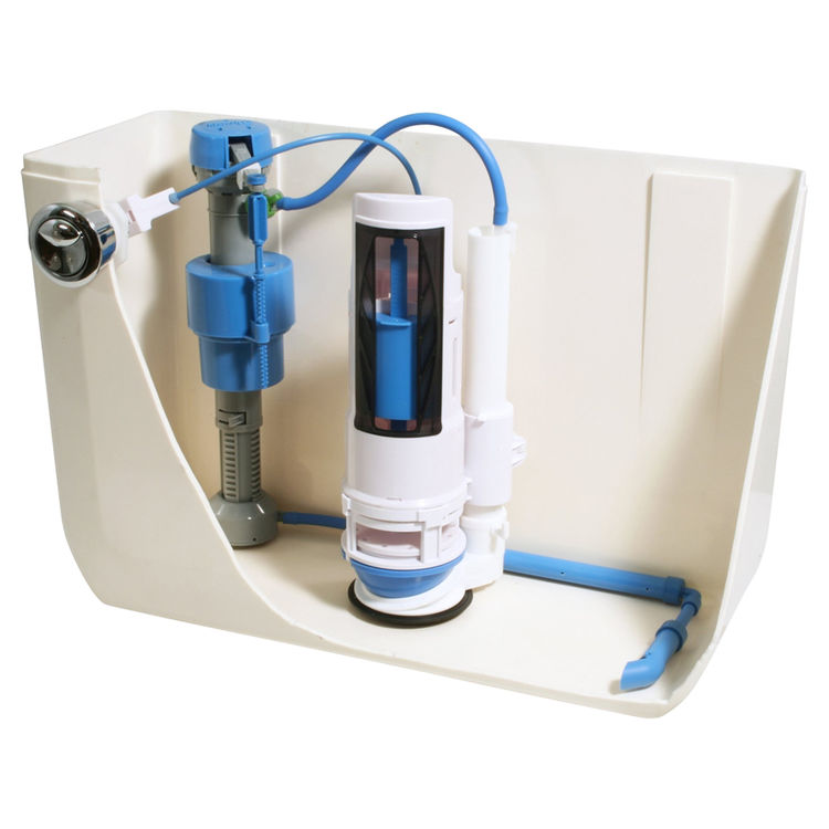 hydroright hyr460 total toilet repair kit with dual flush converter. Black Bedroom Furniture Sets. Home Design Ideas