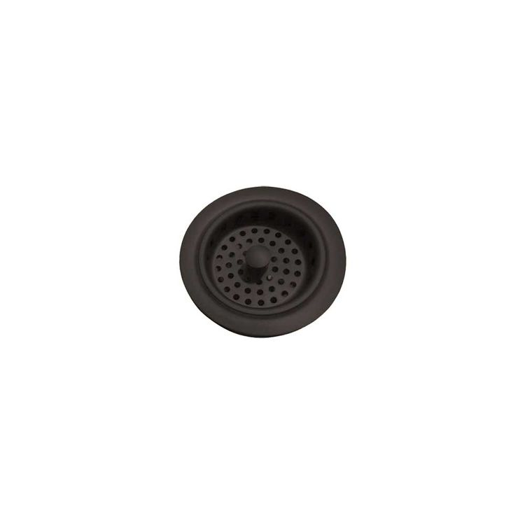 View 3 of Brasstech 121/56 Brasstech 121/56 Flat Black Basket Strainer