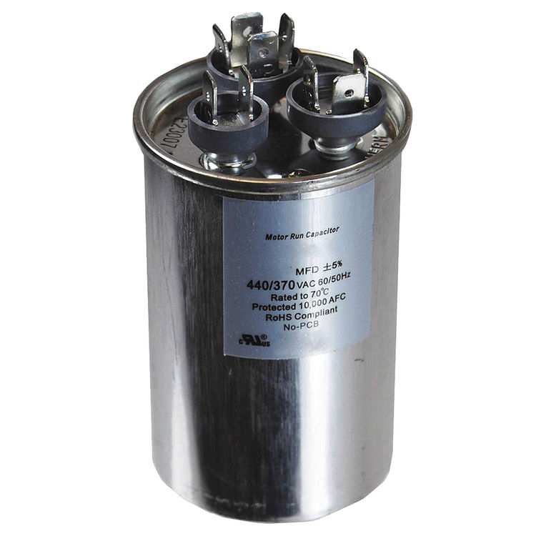 View 2 of Partners Choice 01-0269 Partners Choice 01-0269 40/7.5/370 Round Dual Run Capacitor