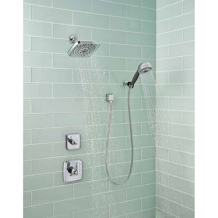 View 4 of Delta T14264-LHD Delta T14264-LHD Chrome Ashlyn Shower Only Trim Less Showerhead