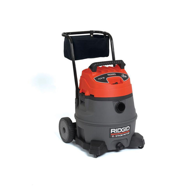 View 4 of Ridgid 50358 Ridgid RV2400A Industrial Fourteen Gallon Two Stage Wet/Dry Vacuum With Cart