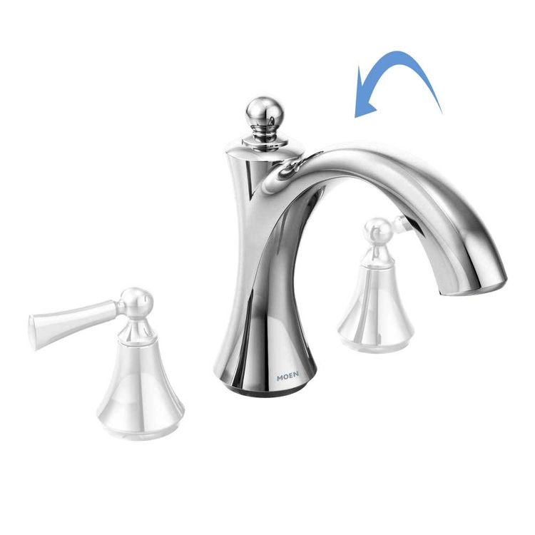 View 3 of Moen 175382 Moen 175382 Vestige Spout Kit, Chrome