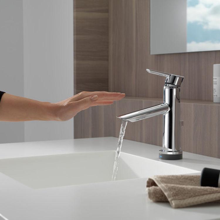 View 5 of Delta 561T-DST Delta 561T-DST Compel One Handle Lavatory Faucet w/ Touch2O.xt, Chrome