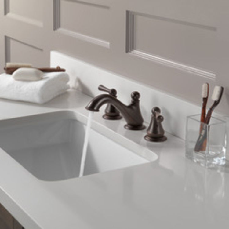 View 5 of Delta 35999LF-RB Delta 35999LF-RB Haywood Two-Handle Widespread Lavatory Faucet, Venetian Bronze