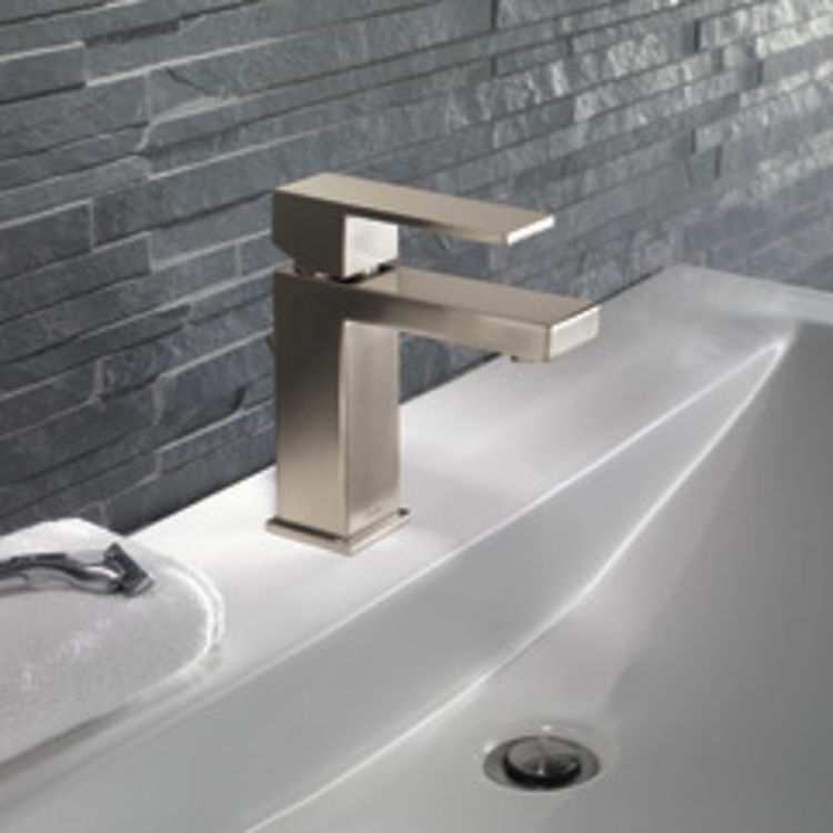 View 3 of Delta 567LF-SSPP Delta 567LF-SSPP Modern Single-Handle Project-Pack Lavatory Faucet, Stainless