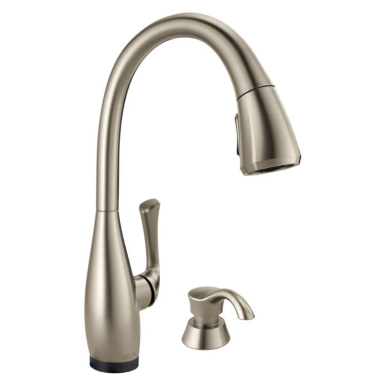 View 3 of Delta RP79534SP Delta RP79534SP DOMINIC Handle Kit - Spotshield Stainless