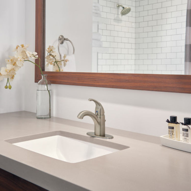 View 3 of Peerless P188624LF-BN Peerless P188624LF-BN TUNBRIDGE One Handle Lavatory Faucet - Brushed Nickel