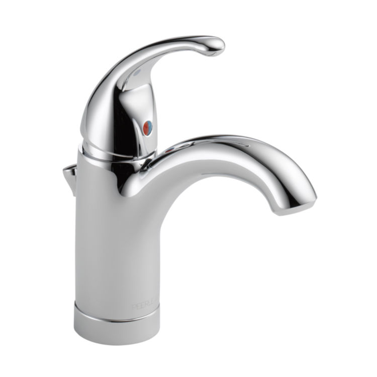 View 4 of Peerless RP79826 Peerless RP79826 Handle, Set Screw, and Button - Chrome