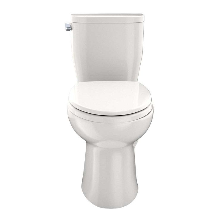 View 3 of Toto CST244EF#12 TOTO Entrada Two-Piece Elongated 1.28 GPF Universal Height Toilet, Sedona Beige - CST244EF#12