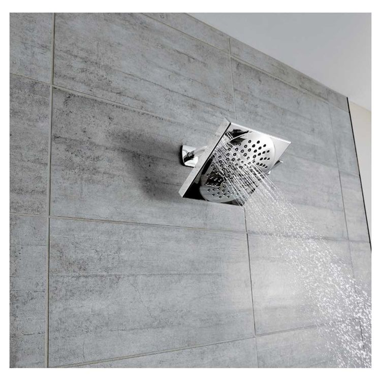 View 5 of Moen S6345 Moen S6345 Velocity Two-Function Rainshower Showerhead, Chrome