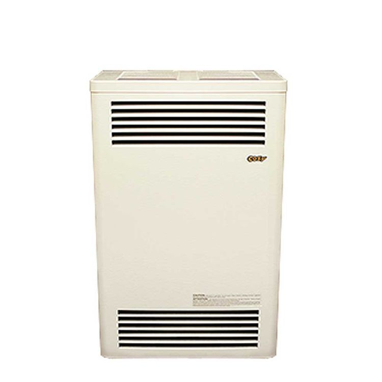 View 3 of Cozy CDV156C Cozy CDV156C 15,000 BTU Propane Direct-Vent Wall Furnace, Neutral Bone