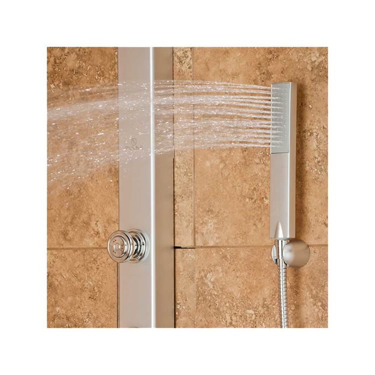 View 5 of Pulse 1020-S Pulse 1020-S Splash ShowerSpa Showerhead System Surface-Mounted, Silver