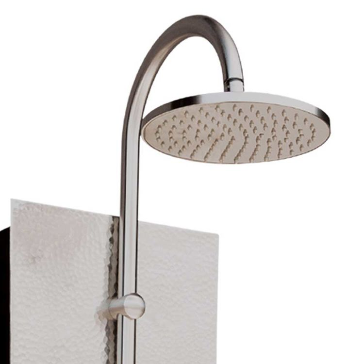 View 5 of Pulse 1027 Pulse 1027 Hand-Forged Panel Vaquero ShowerSpa, Hammered Nickel Finish